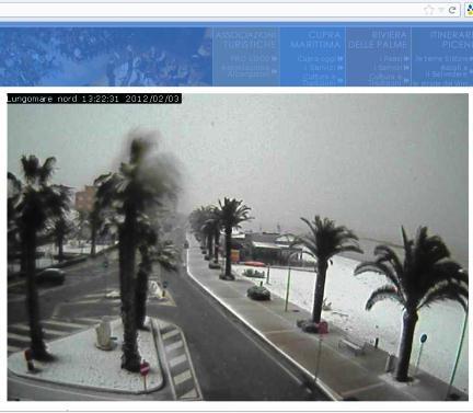 Foto Webcam Comune di Cupra Marittima