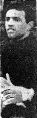 Foto (dall'archivio di Luigi Tommolini) del portiere dell'Ascoli Roberto Strulli