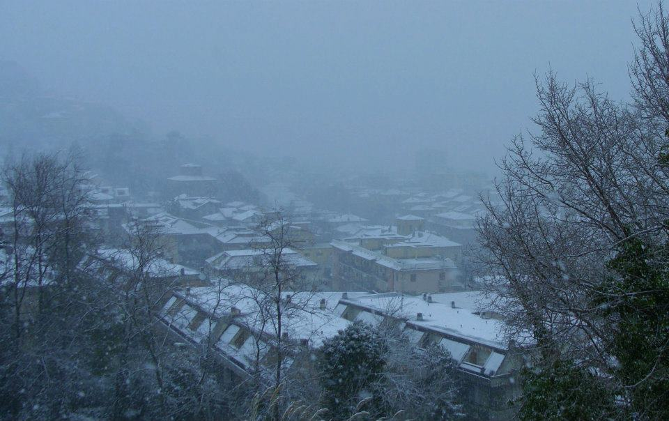 Grottammare in neve Magda febbraio 2012. 3