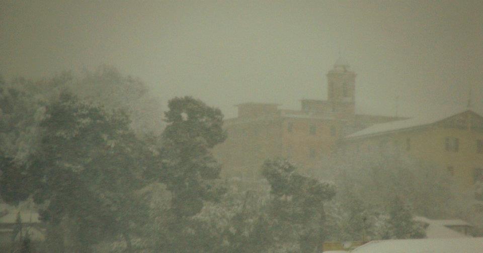 Grottammare in neve Magda febbraio 2012. 5