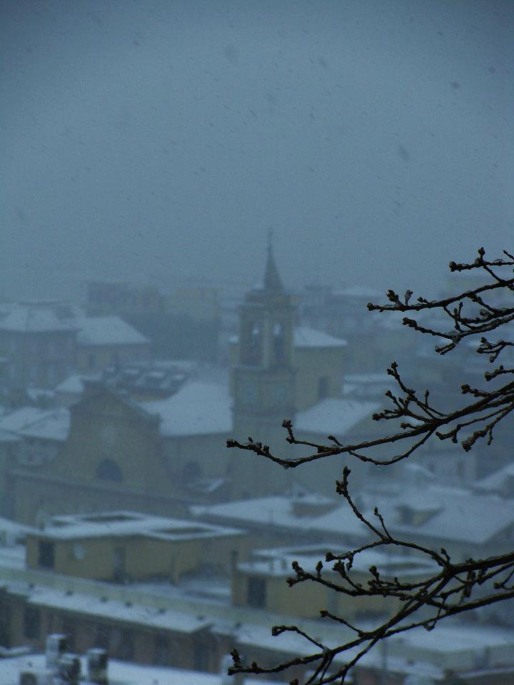 Grottammare in neve Magda febbraio 2012. 6