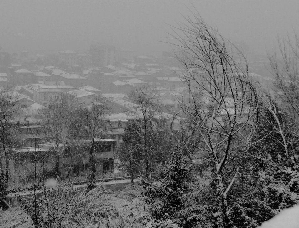 Grottammare in neve Magda febbraio 2012