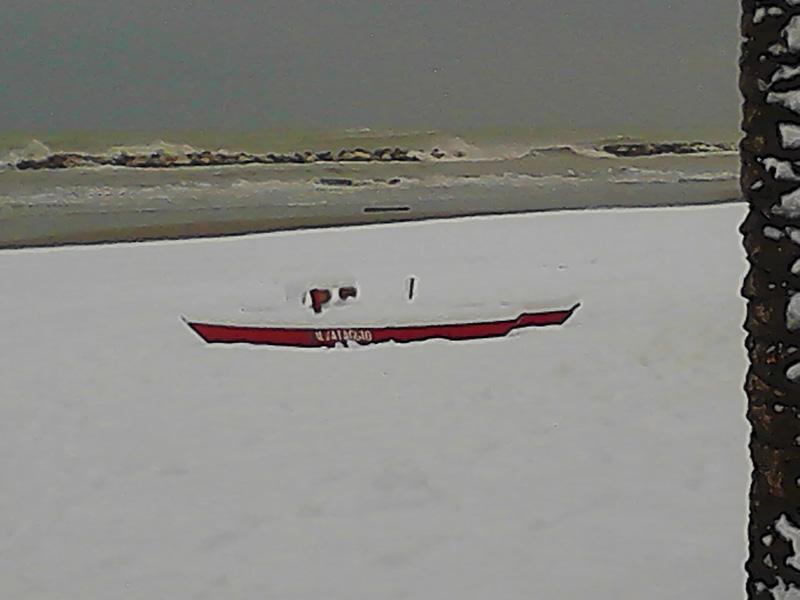 La neve a Grottammare e Cupra. Foto di Giovanna Bianco