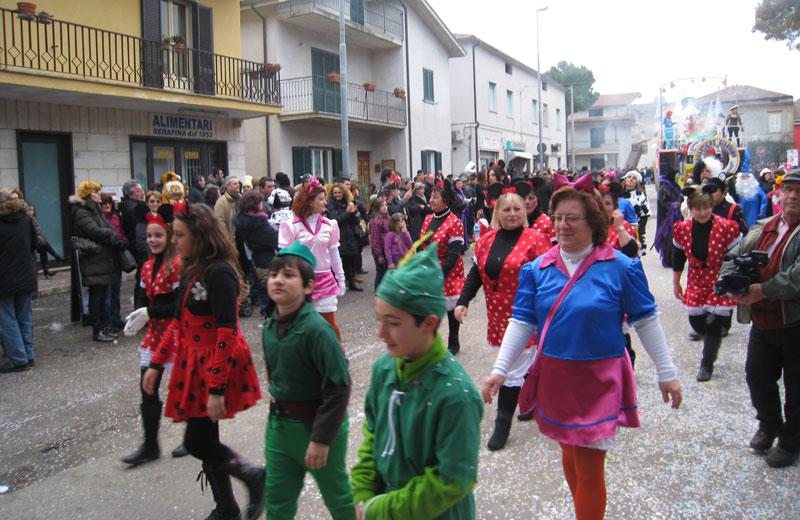 Martinsicuro, Carnevale 2012