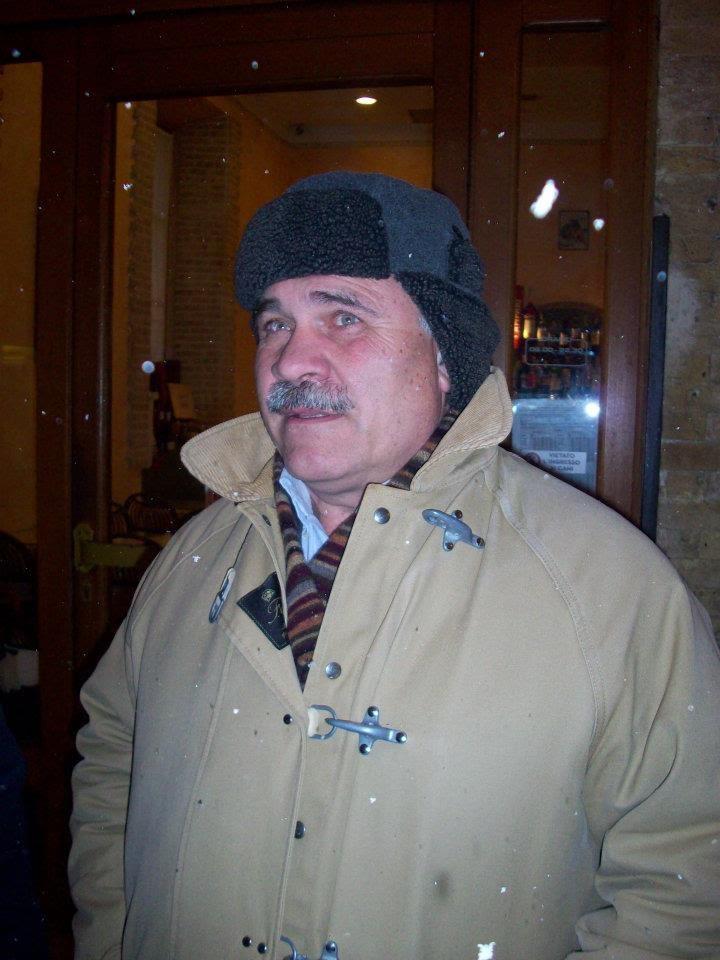 Il sindaco di Cupra D'Annibali e la nevicata nella notte del 3 febbraio