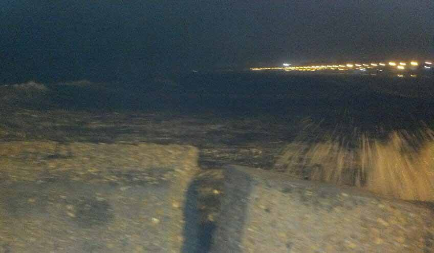 Mareggiata a San Benedetto, 1° febbraio 2012