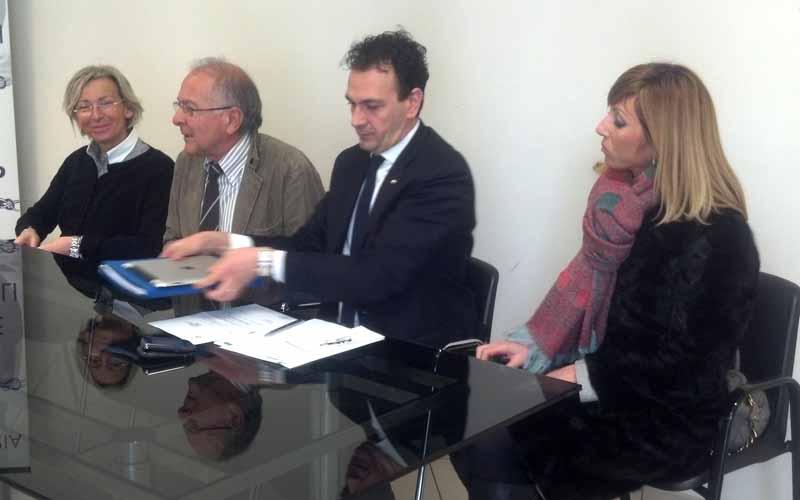 Margherita Sorge, Bruno Bucciarelli, Massimo Forlì e Francesca Rossi Bollettini