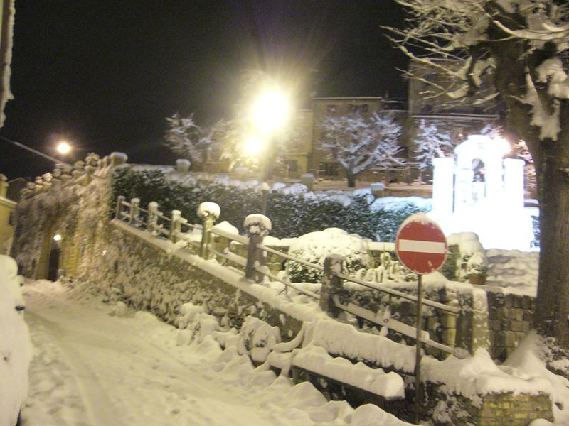 Massignano neve 3 febbraio  (Giuseppe De Angelis) 2