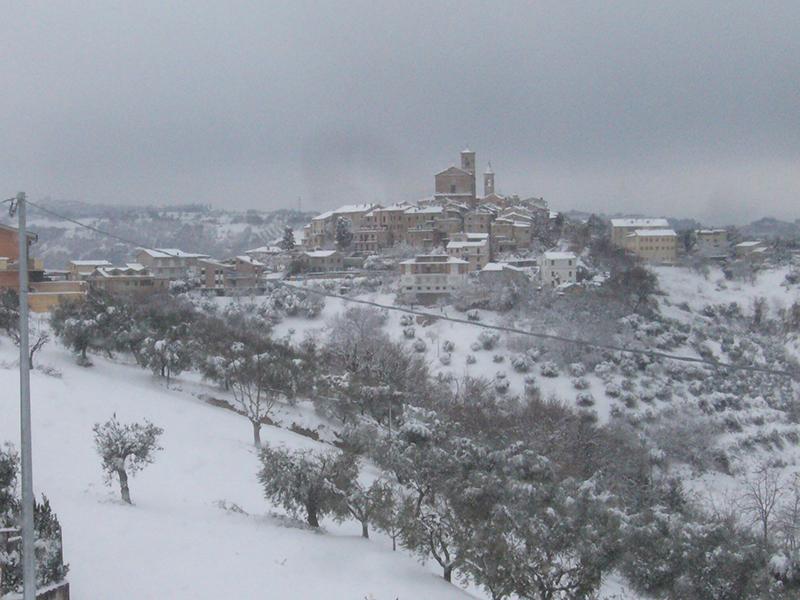 Massignano neve 3 febbraio  (Giuseppe De Angelis) 4
