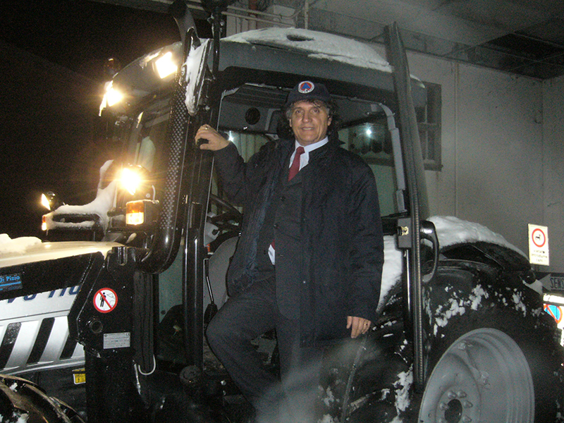 Massignano sindaco Micozzi neve 3 febbraio (Giuseppe De Angelis) 6