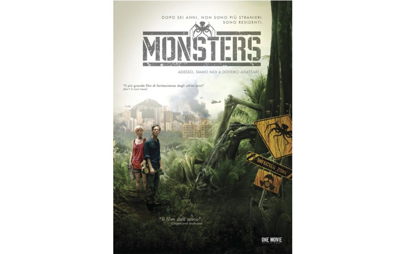 Monsters, locandina