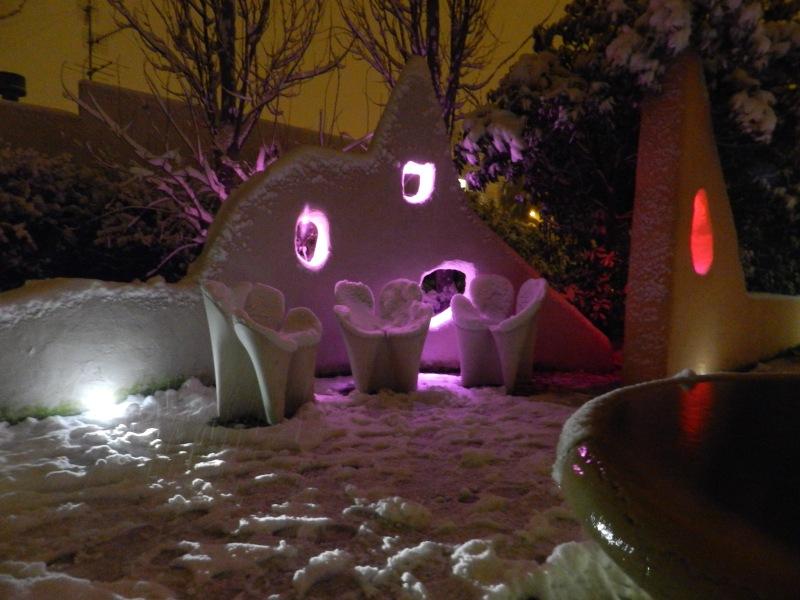 Neve 4 febbraio San Benedetto del Tronto  di  Gianni