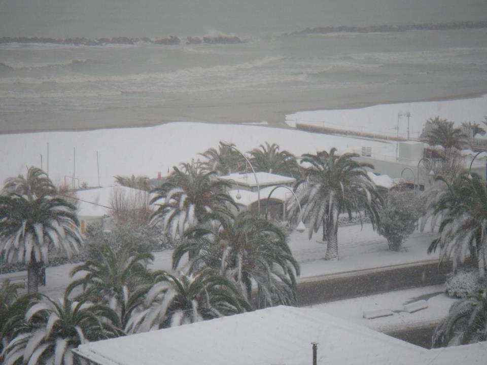 Neve San Benedetto 3 febbraio, lo chalet Brasil