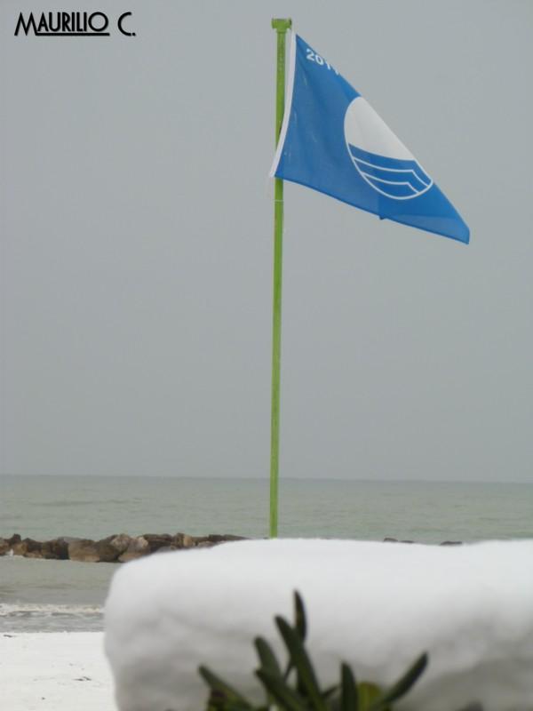 Neve San Benedetto, 5 febbraio, Maurilio Cestarelli Bandiera-Blu