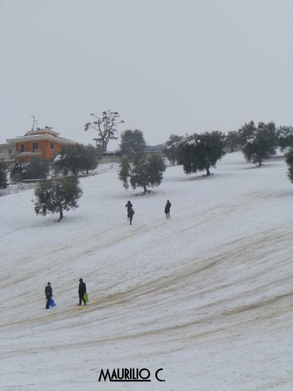 Neve San Benedetto, 5 febbraio, Maurilio Cestarelli Discesa-libera-sbt-2