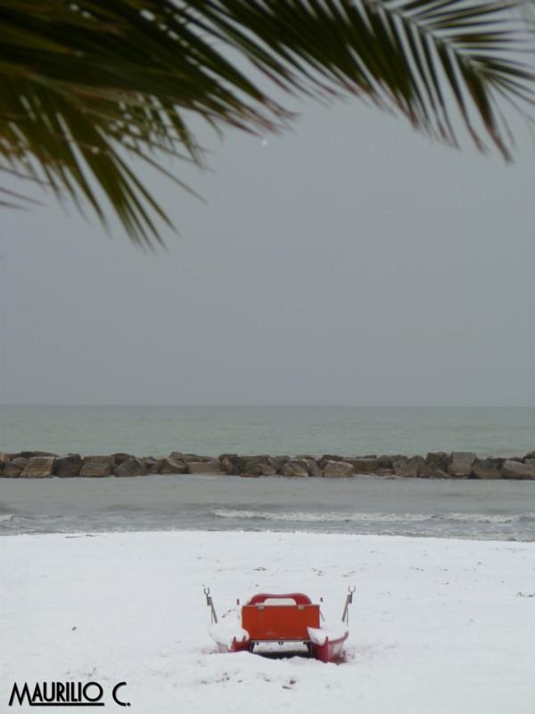 Neve San Benedetto, 5 febbraio, Maurilio Cestarelli Pattino