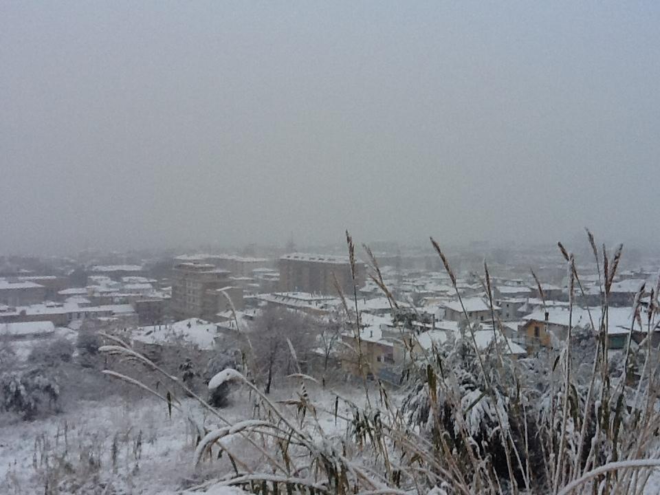 Neve, San Benedetto del Tronto,  3 febbraio 2012 (foto di Gabriele)
