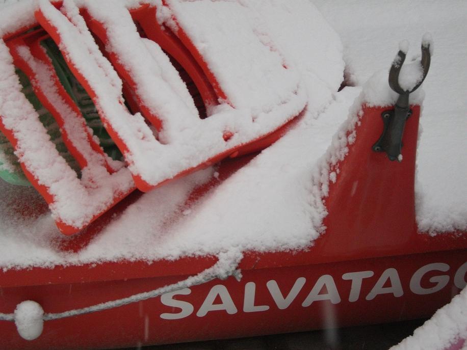 Neve, San Benedetto del Tronto, 3 febbraio 2012
