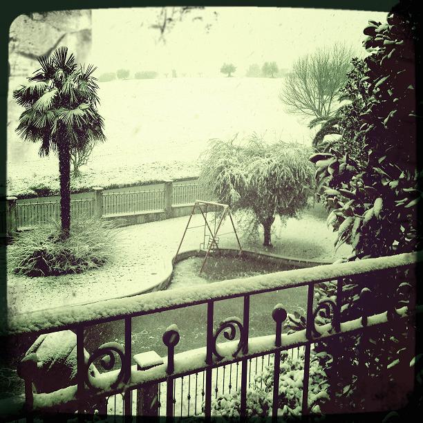 Neve, Stella di Monsampolo 3 febbraio 2012