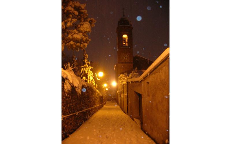 Neve a Colli del Tronto, 3 febbraio 2012, foto di Mino Falleroni 1