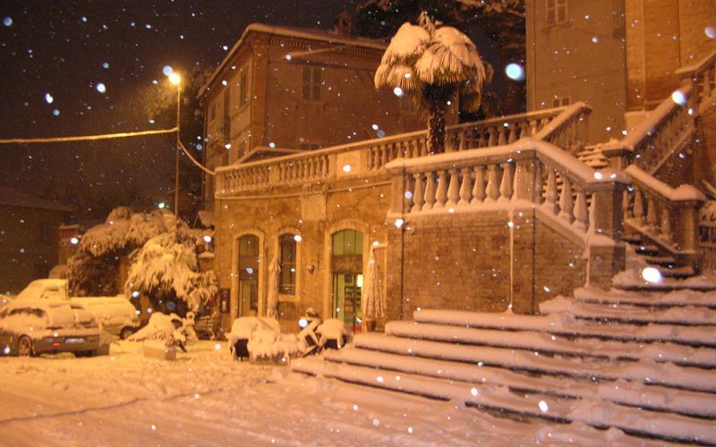 Neve a Colli del Tronto, 3 febbraio 2012, foto di Mino Falleroni 2