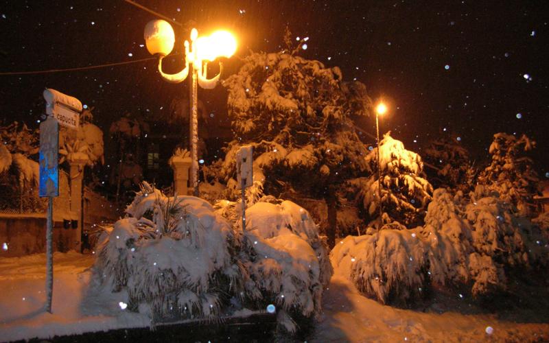 Neve a Colli del Tronto, 3 febbraio 2012, foto di Mino Falleroni 4