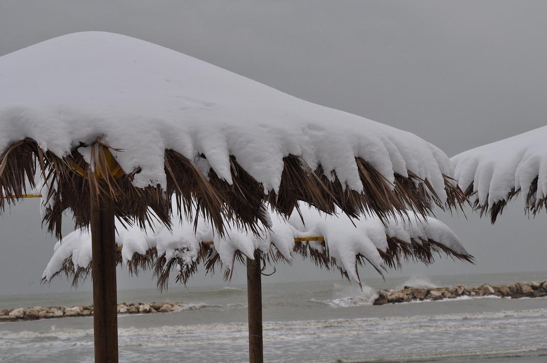 Neve a Cupra, 6 febbraio 2012 foto di Valeria Tommolini 4