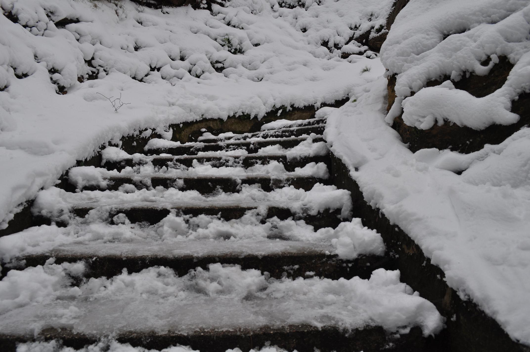 Neve a Cupra, 6 febbraio 2012 foto di Valeria Tommolini 6