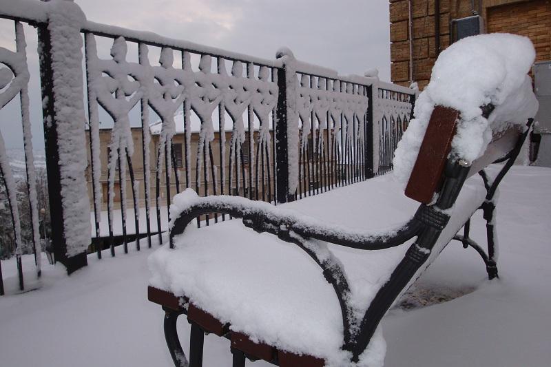Neve a Monteprandone 3 febbraio 2012 (foto Luca)