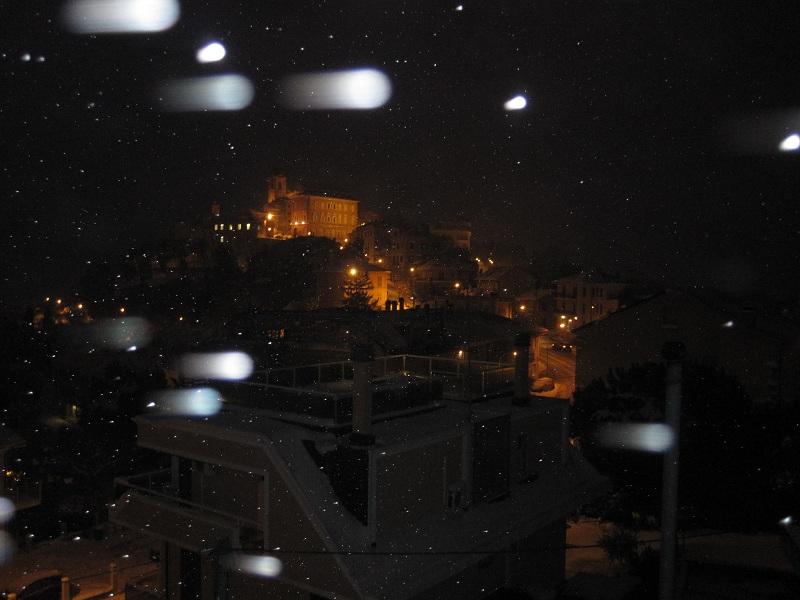 Neve a Monteprandone, 7 febbraio 2012 foto Nedo 1