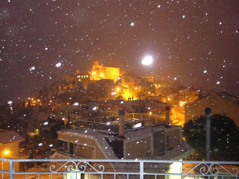 Neve a Monteprandone, 7 febbraio 2012 foto Nedo 2
