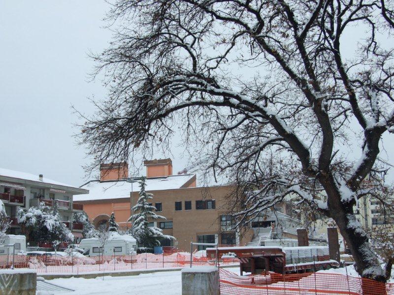 Neve a Monteprandone, 7 febbraio 2012 foto Pierluigi Bartolomei 2