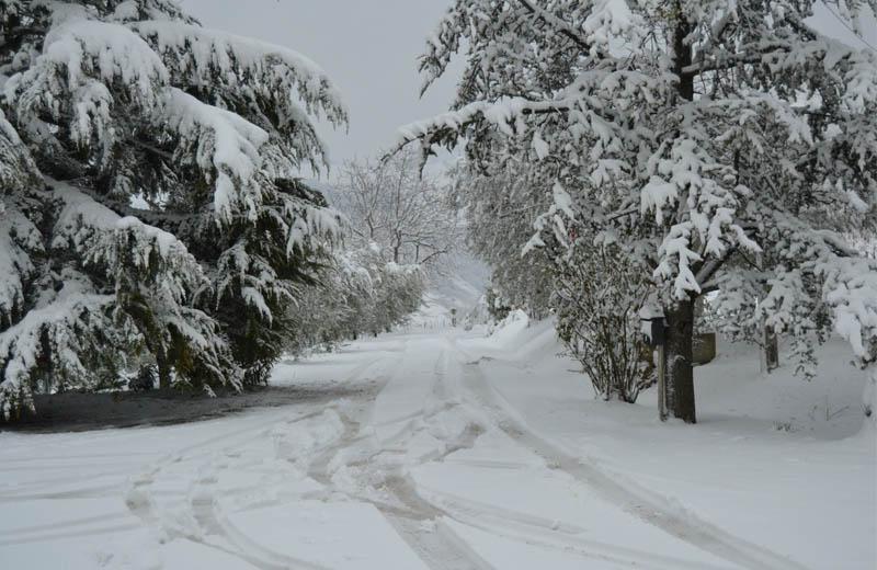 Neve a Ripatransone 3 febbraio 2012