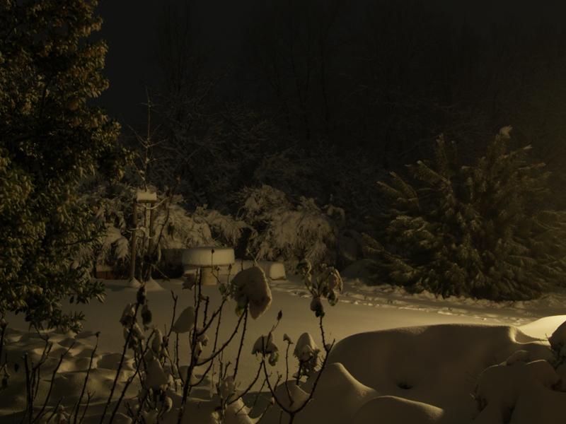 Ripatransone sotto la neve, 3 febbraio, foto di Lorenzo Guidi