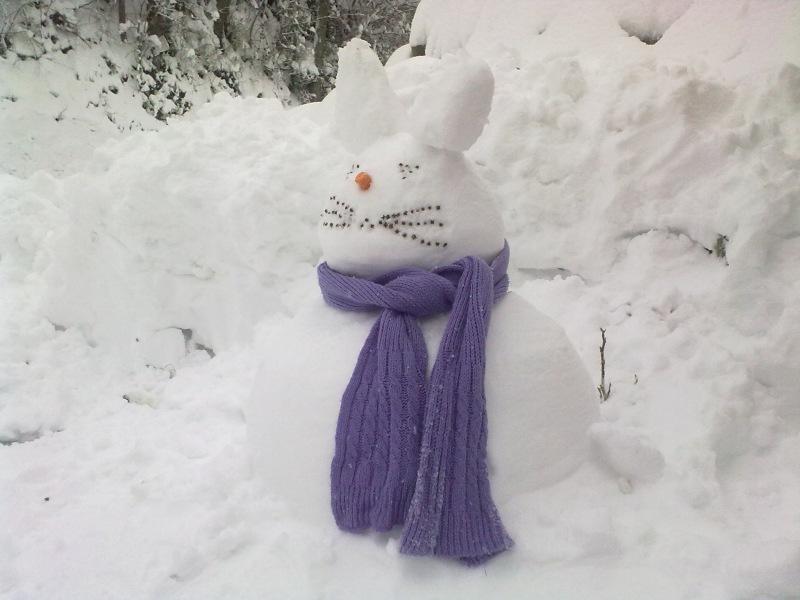 Neve a Ripatransone del 4 febbraio di Annalisa Agostini