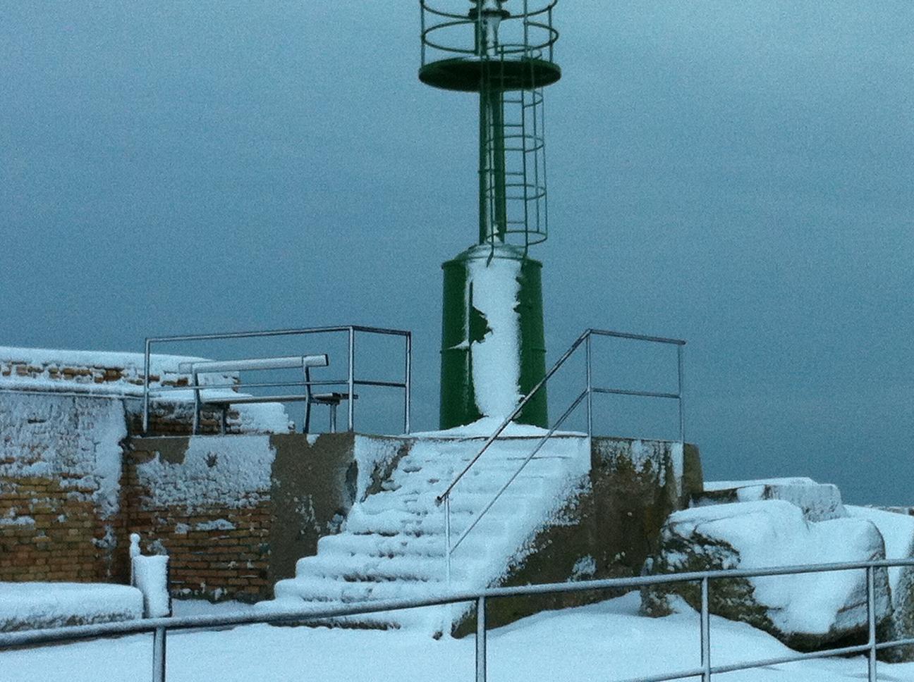 Neve a San Benedetto, 3 febbraio 2012 foto di Mariano Vannicola 1