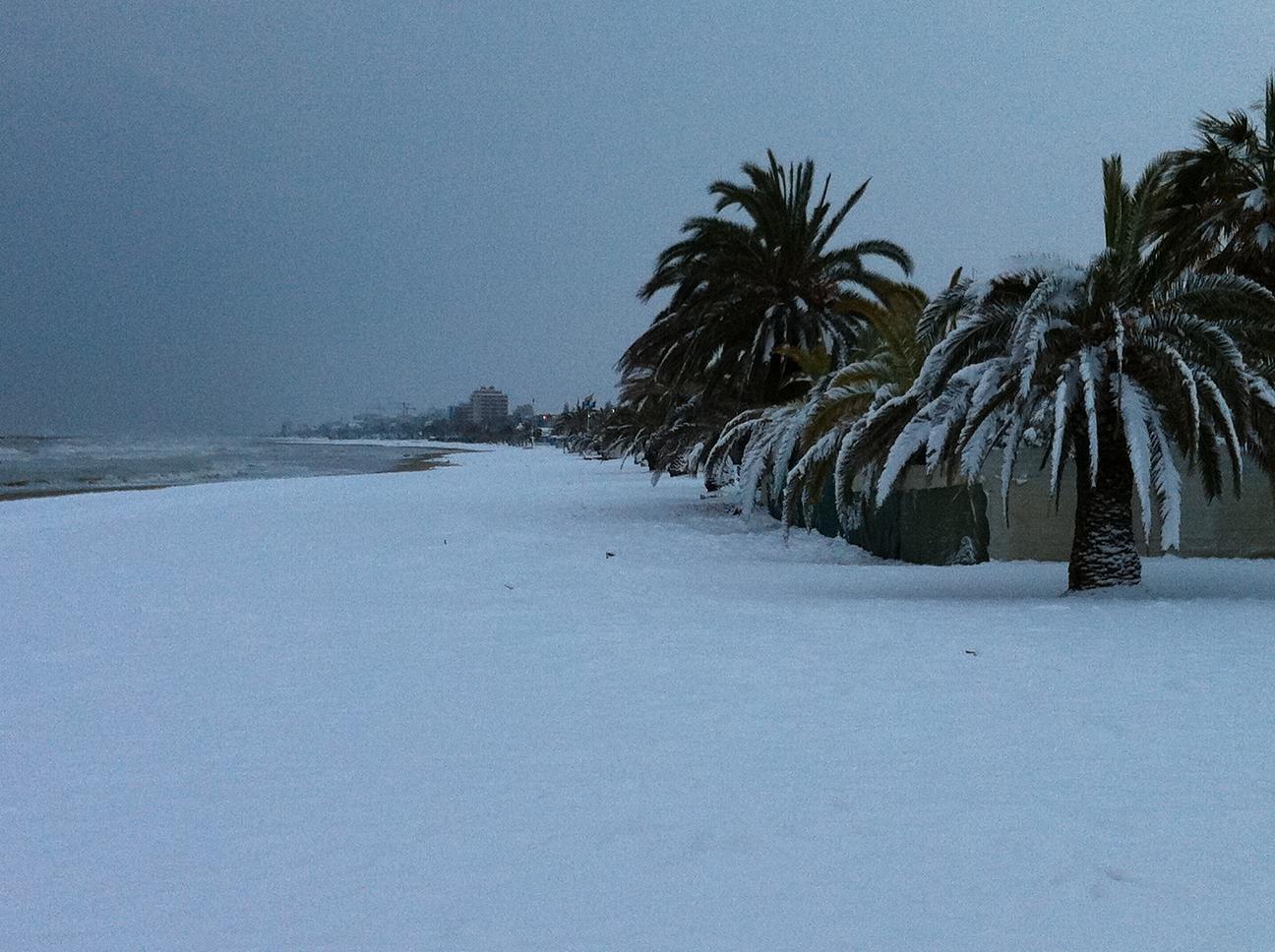 Neve a San Benedetto, 3 febbraio 2012 foto di Mariano Vannicola 4