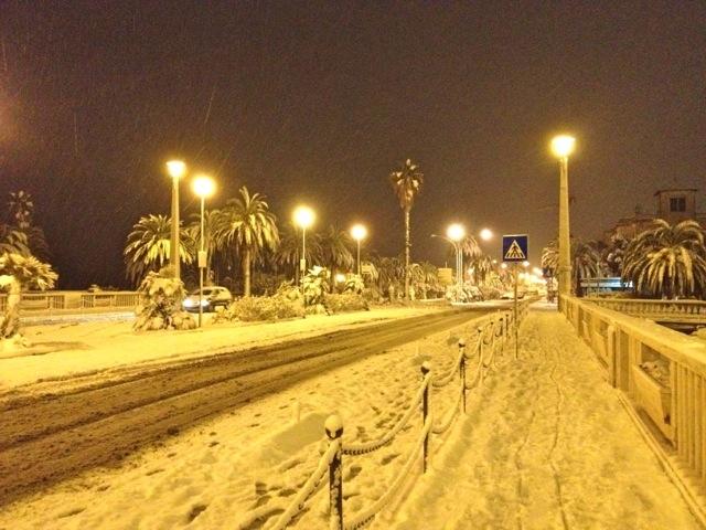 Neve a San Benedetto, 3 febbraio 2012 foto di Sabrina Cava 4