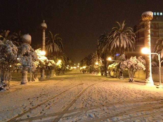Neve a San Benedetto, 3 febbraio 2012 foto di Sabrina Cava 5