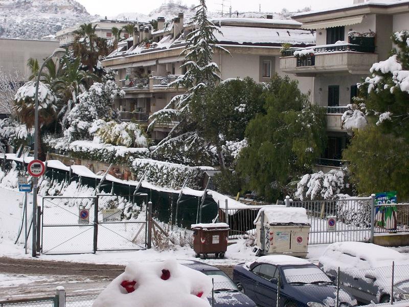 Neve a San Benedetto, 4 febbraio 2012 foto Achille 1