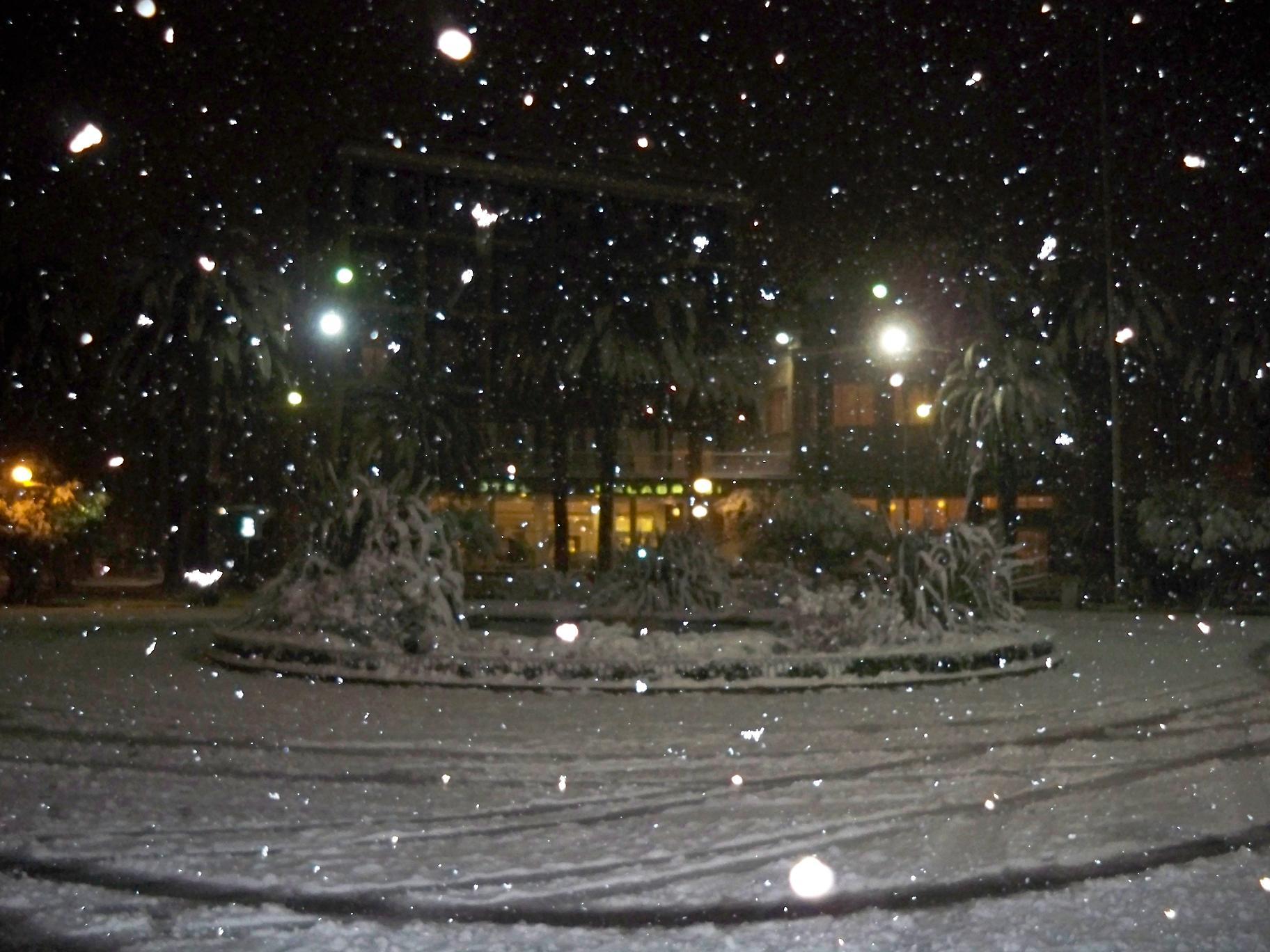 Neve a San Benedetto, 4 febbraio 2012 foto di Carlos 1