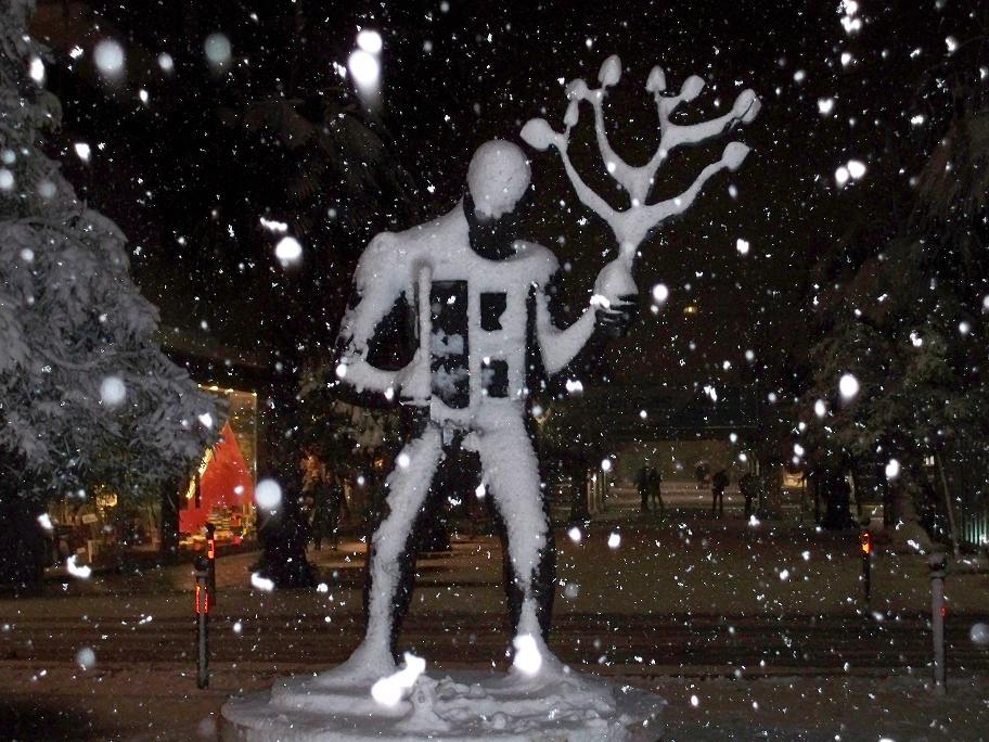 Neve a San Benedetto, 4 febbraio 2012, foto di Carlos 2