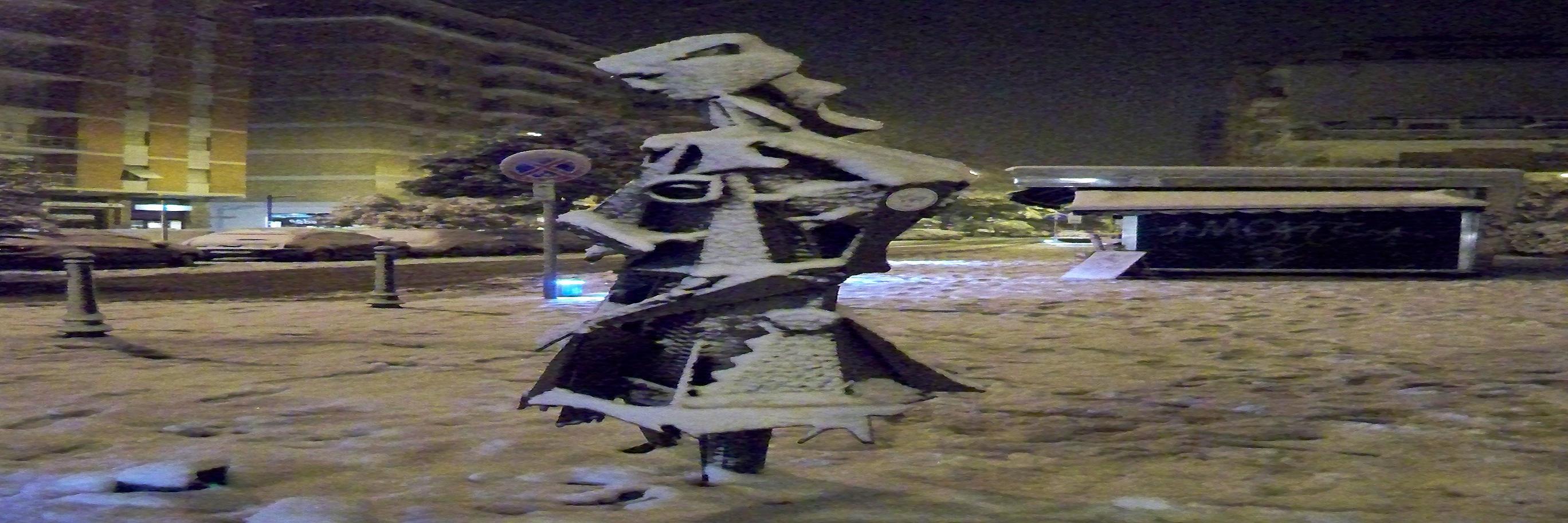 Neve a San Benedetto, 4 febbraio 2012, foto di Carlos 3