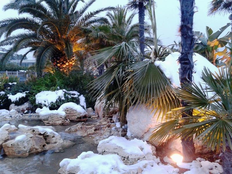 Neve a San Benedetto, 7 febbraio 2012 foto Roberta Corimbi 2