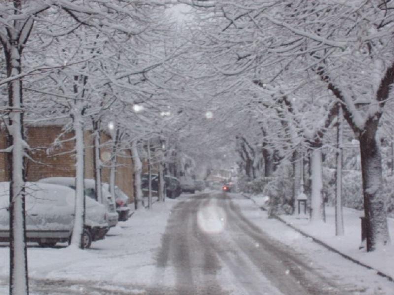 Neve a San Benedetto, 7 febbraio 2012