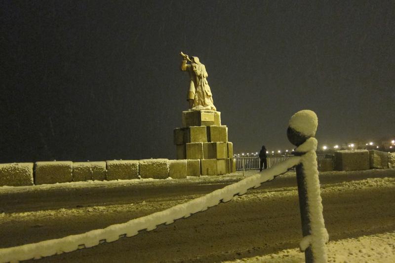 Neve a San Benedetto del Tronto, 3 febbraio 2012 foto di Andrea Sanguigni 5