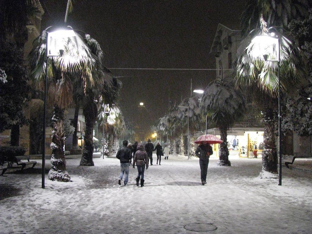 Neve a San Benedetto del Tronto, 3 febbraio 2012 foto di Mirko F.