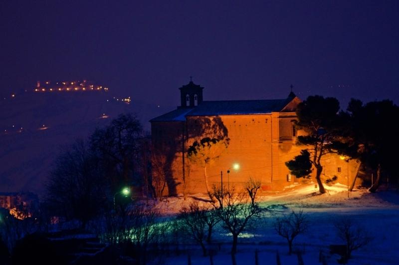 Neve ad Acquaviva, 6 febbraio 2012 foto di Andrea Tomassini 5