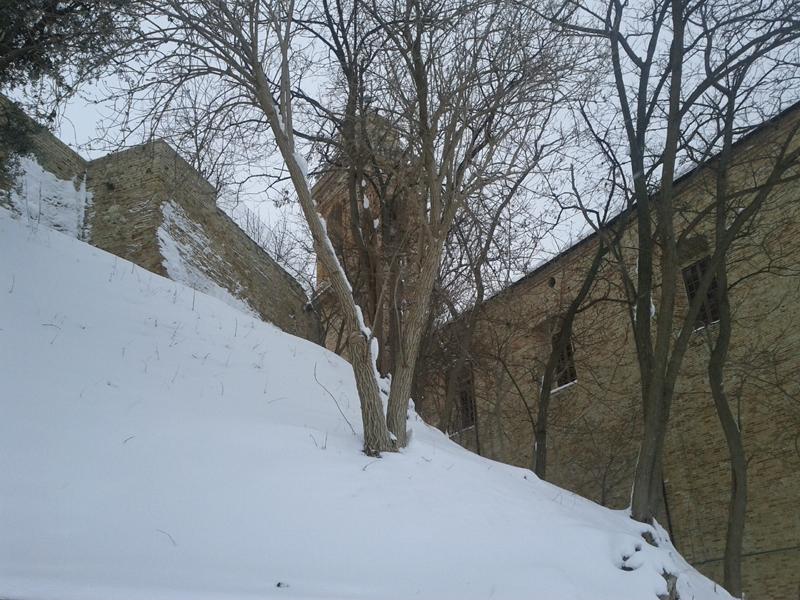 Neve al centro storico di Monsampolo, 5 febbraio, Ilario Valori