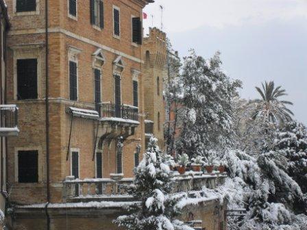 Neve centro San Benedetto, 3 febbraio (Maria Paola Salzano, San Benedetto) 1